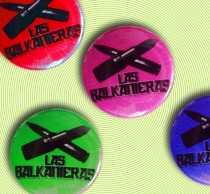 Button Las Balkanieras